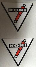 KONI REAR SHOCK RESTORATION DECALS