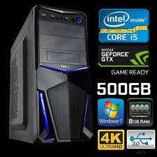 Ordenador PC Gaming i5 8GB RAM 500 GB HDD Fortnite PUGB FIFA