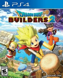 Dragon Quest Builders 2  PlayStation 4 PS4 -NEW SEALED!