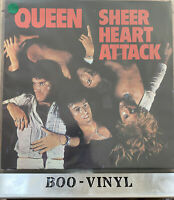 QUEEN - SHEER HEART ATTACK LP VINYL Original 1974 Album EMC 3061 EX / VG+