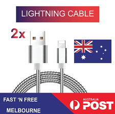 Lightning Sync Data Charger Cable Cord for Genuine Apple iPhone 7 6S 5 5S C iPad