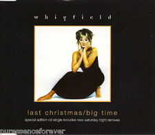 WHIGFIELD - Last Christmas/Big Time (UK Special Ed 4 Tk CD Single Pt 2/Sticker)