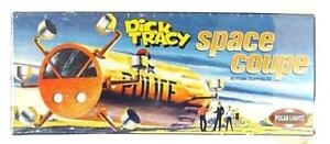 Dick Tracy Space Coupe Model  Aurora Reissue PL