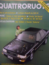Quattroruote 401 1989 - Test Lancia Thema e Alfa 164 Turbo Diesel   [Q43]