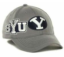 BRIGHAM YOUNG COUGARS new SKETCHED FLEX FIT HAT CAP- Medium/Large M/L $28