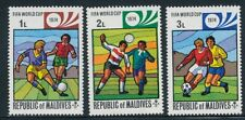 1974 FIFA World Cup Football Germany Republique of Malvides Set of 3 Stamps