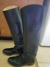 Hunter boots 7.5 leather, Gently worn