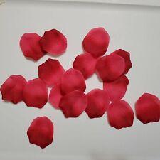 1200 pcs Silk Petals -Artificial- wedding decor flower rose petal - Apple red