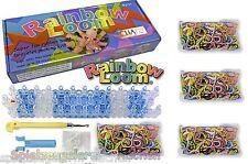 Rainbow Loom Starter Set mit Metallnadel deutscher Anleitung 1800 MIX Ringe Tool