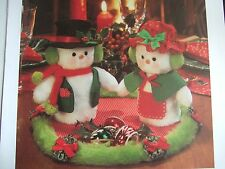 Vintage SEWING PATTERN Jean Greenhowe MR & MRS SNOWBODY CHristmas Decoration