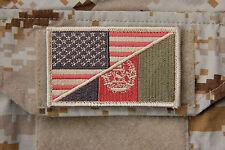 US Afghan Flag DEVGRU SEAL Team 6 NSWDG CAG Afghanistan US Army Special Forces