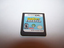 SimCity Creator Sim City (Nintendo DS) Lite DSi XL 3DS 2DS Game