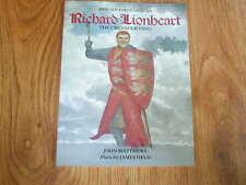 RICHARD LIONHEART The Crusader King - Heroes & Warriors series - Stewart 1988