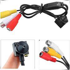 Mini Caméra Espion CCTV sécurité 1000TVL caché Audio Vidéo intérieure HD surveillance