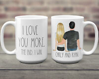 Valentines Day Gift For Him Personalized Valentine S Day Mug For Husband Custom