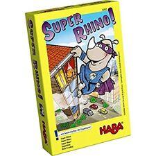HABA 302273. Rhino Hero. Juego de mesa. 2 a 5 jugadores. Más de 5 años