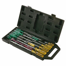 Stanley 14pce Screwdriver Set in Carry Case Pro Grade 14pc Screw Driver Kit