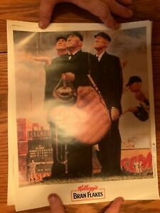 1991 Kellogg's Baseball Poster Set of 3