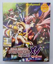 Anime DVD Senki Zesshou Symphogear G GX AXZ XV Season 1-5 Vol. 1-65 End ENG SUB
