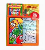 VeggieTales Stained Glass Made Easy with Wooden Frame