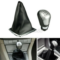 5 Speed Gear Shift Knob Gearstick Gaitor Gaiter Boot Cover For Ford Focus MK2