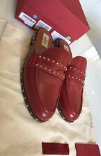 LUXUS Original VALENTINO Schuhe Slipper, Gr. 39😍 Stiefel Schuhe, NP 720€💃 Rot