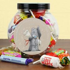 Me to You Personalised Graduation Gift Sweets Jar Swizzels - Tatty Teddy Bear
