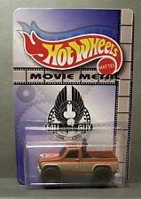 "Custom HotWheels GMC TRUCK and package of  ""Movie Metal""  from The FALL GUY"