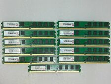 13GB 13x1GB Mixed Transcend PC2-6400 DDR2-800 Non-ECC 240-PIN Desktop Memory RAM