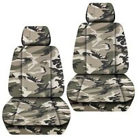 Fits 2007-2012 Holden commodore VE Sedan  front set car seat covers CAMOUFLAGE