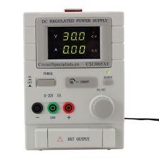 Adjustable Linear DC Bench Power Supply 0-30V 0-5A Variable CSI3005XE