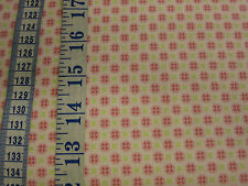 Gutermann cotton fabric - Small Cream/pink Design per FQ - Summer Loft Coll.