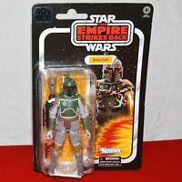 "Star Wars Black Series Classic Boba Fett 6"" Action Figure New 40th Empire ESB"