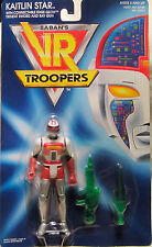 SABAN'S VR Troopers Kaitlin Star w/Edge-Glow Sword &Ray Gun 1994 Kenner NEW!