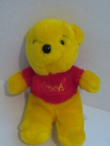 "Vintage Sears Walt Disney 7"" Winnie the Pooh Plush Bear"