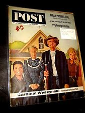 The Saturday Evening Post February 2, 1963 BEVERLY HILLBILLIES philp wylie CUBA