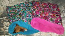 Snuggle sack bed bag blanket Dog, puppy, Chihuahua, Yorkie. (Sugar skull)