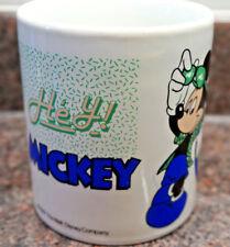 "Retro Vintage Disney Mug -1987 ""Hey Mickey"" Mouse-  Kilncraft"