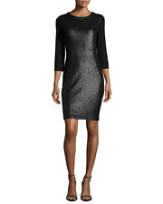 Haute Hippie Sequin Embellished Dress, Black  $695.00 Size M  Cocktail Party