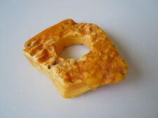 Feinster Butterscotch Bernstein mit Loch zur Weiterverarbeitung Amber 21,65 g