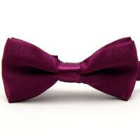 Classic Baby Boy Kid Children Pre Tied Party Wedding Tuxedo Bowties Tie Necktie