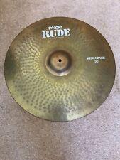 Paiste Rude 20 Inch Ride/crash Cymbal