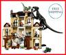 1046pcs Jurassic World Indoraptor Rampage At Lockwood Estate 75930 + Instruction