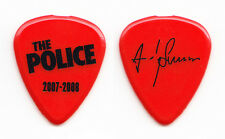 The Police Andy Summers Signature Red Guitar Pick - 2007-2008 Tour
