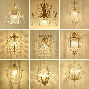 Modern Luxury Crystal Chandeliers Lamp Hanging Light Lustres De Cristal Lamp