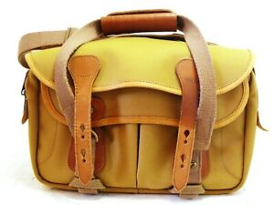 Billingham 305 camera bag khaki/tan canvas with inserts NEW #37728