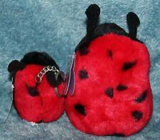 Puffkins Ladybug Dottie #6650 w/ mini Dottie Keychain #6650-K