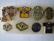 j1 lotto 8 pins lot HELLAS VERONA FC club spilla football calcio pins spille