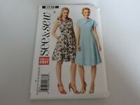 Butterick B5872 See Sew Sewing Pattern Dress Easy Fitted Flare Plus Size 6 to 22