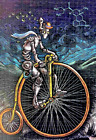 EMEK Cybercycle Blotter Fine Art Print Bicycle Day Ready to Ship